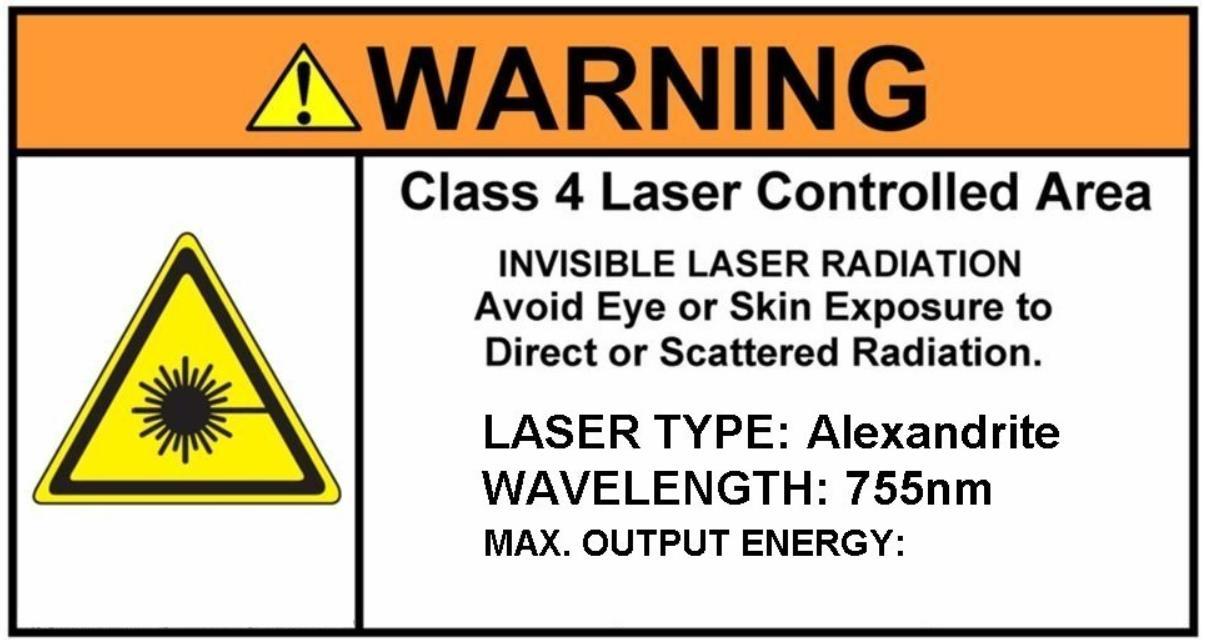 Laser Danger Signs